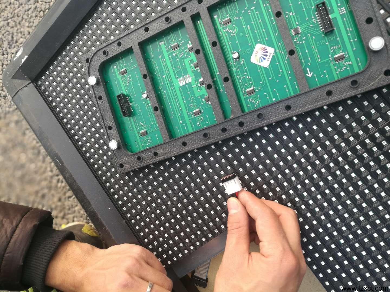 LED单元板联接可靠性检测