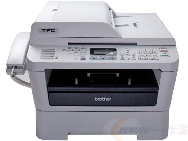 兄弟7380打印复印扫描传真多功能一体机