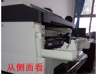 联想M7400打印机加粉清零图解